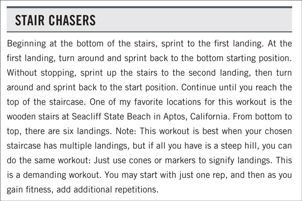 Greg Amundson's Favorite Outdoor WODs: Stair Chasers